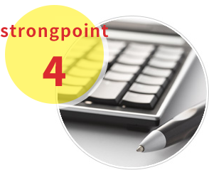 strongpoint4低予算にも対応